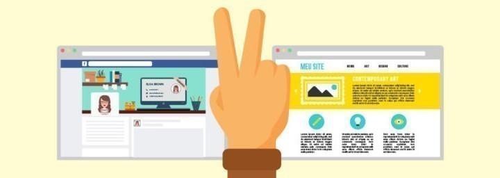 Fan page ou site