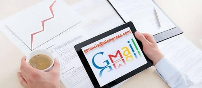 O Gmail como ferramenta empresarial.